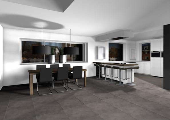 Interieurontwerp villa barendrecht joosteninterieur interieurarchitect rotterdam for Interieurontwerp