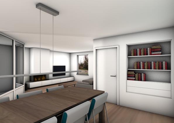 Interieurontwerp woning capelle a d ijssel iii joosteninterieur interieurarchitect rotterdam for Interieurontwerp