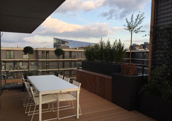 dakterras penthouse Rotterdam