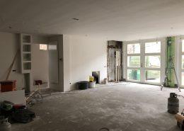 Voortgang verbouwing Villa Den Haag